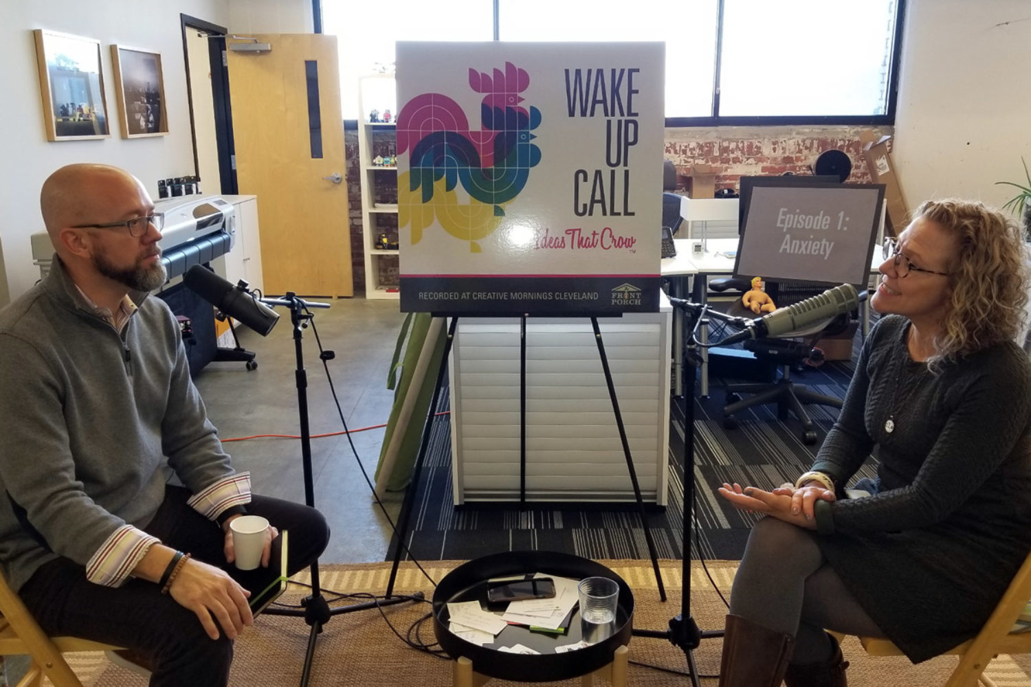 Wake Up Call: The New Podcast for Creative Minds