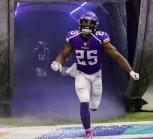 Alexander Mattison: NFL Running Back for the Minnesota Vikings Discusses His Football Career and Fashion