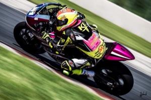 Kaleb De Keyrel- Rider for the Robem Engineering Team in MotoAmerica's Twins Cup Series