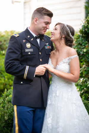 Real Bride Callie Meredith: Planning Her Wedding During the Pandemic, and Being a Military Spouse