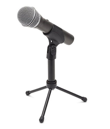 "<p>3. Microphone</p> <p>If you have decided to take the plunge in 2018 and finally start your own podcast, or if you know somebody who wants to, there is no better gift than their own microphone for recording - a podcasting must! And, just like with the headphones, you can spring for <a href=""http://amzn.to/2hFv9Ij"" target=""_blank"" rel=""noreferrer noopener"">the bargain</a> (perfect for amateurs) or splurge on <a href=""http://amzn.to/2hFMH73"" target=""_blank"" rel=""noreferrer noopener"">a fancier one</a>.</p>"