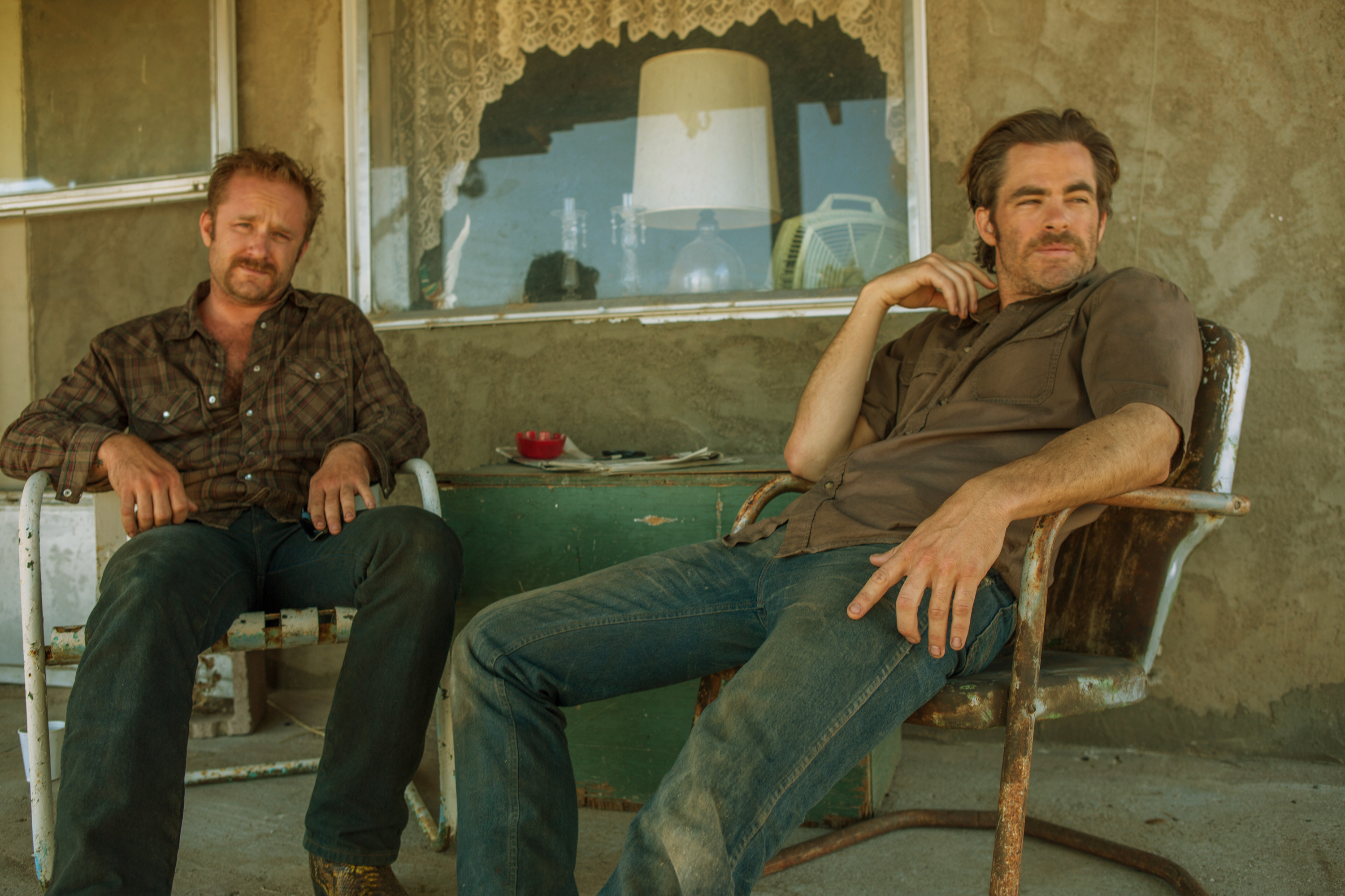 "<p><br /></p> <p>6. <a href=""http://amzn.to/2v8YUpP"" target=""_blank"" rel=""noreferrer noopener"">Hell or High Water</a></p> <p>Just another cowboy movie? That's what Ann and Les thought too, until they actually watched it. Ann didn't even think that she liked Westerns until she saw this movie about two brothers who go to desperate measures to save their family's ranch in Texas. So even if you think that Westerns just aren't ""your thing,"" we beg you to give it a chance! Let our review (and the fact that Chris Pine plays a cowboy) change your mind, at least.</p>"